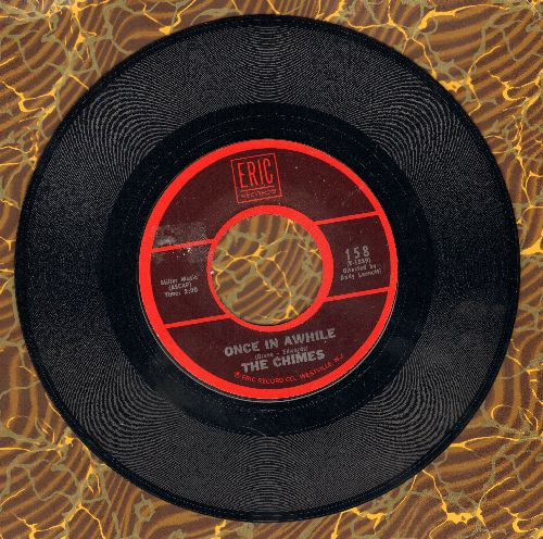 Chimes - I'm In The Mood For Love/Once In Awhile (double-hit re-issue) - NM9/ - 45 rpm Records