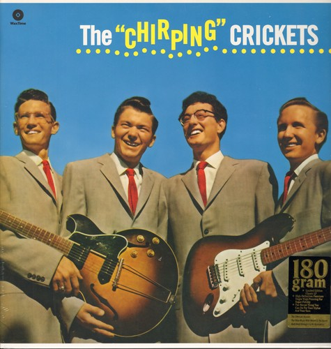 Crickets - The Chirping Crickets: Oh Boy!, Maybe Baby, That'll Be The Day, Send Me Some Lovin' (180 gram virgin vinyl re-issue of RARE recordings, EU Pressing, SEALED, never opened!) - SEALED/SEALED - LP Records