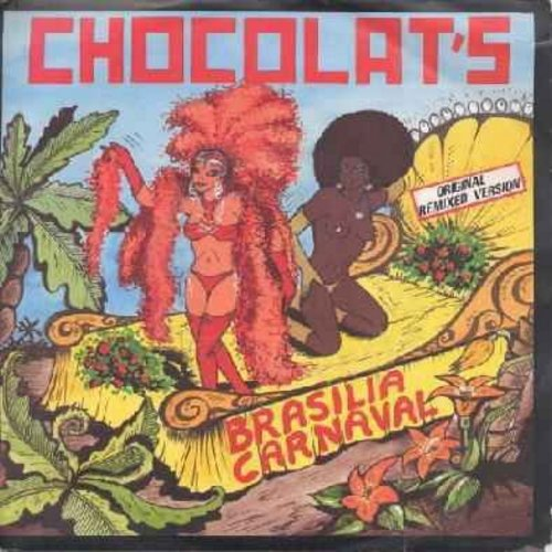 Chocolat's - Brasilia Carnaval/Cubanita (French pressing with picture cover) - NM9/VG7 - 45 rpm Records