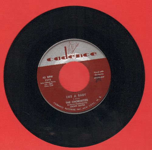 Chordettes - Echo Of Love/Like A Baby - EX8/ - 45 rpm Records