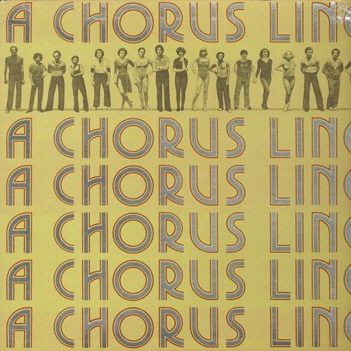 A Chorus Line - A Chorus Line - Original Broadway Cast Recording (vinyl STEREO LP record, gate-fold cover first pressing) - M10/NM9 - LP Records