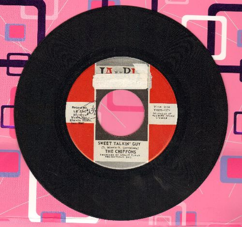 Chiffons - Sweet Talkin' Guy/Did You Ever Go Steady (sol) - EX8/ - 45 rpm Records