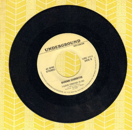 Christie, Susan - I Love Onions/Use Me (by Bill Withers on flip-side)(re-issue) - NM9/ - 45 rpm Records