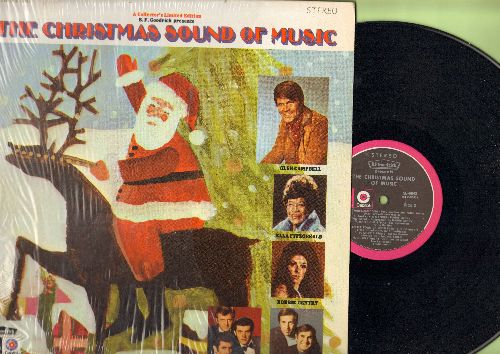 Campbell, Glen, Ella Fiztgerald, others - The Christmas Sound Of Music: Have Yourself A Merry Little Christmas, White Christmas, There's No Place Like Home For The Holidays (vinyl LP record, B.F. Goodrich production) - NM9/EX8 - LP Records