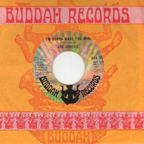 Christie, Lou - I'm Gonna Make You Mine/I'm Gonna Get Married (with Buddah company sleeve) - EX8/ - 45 rpm Records