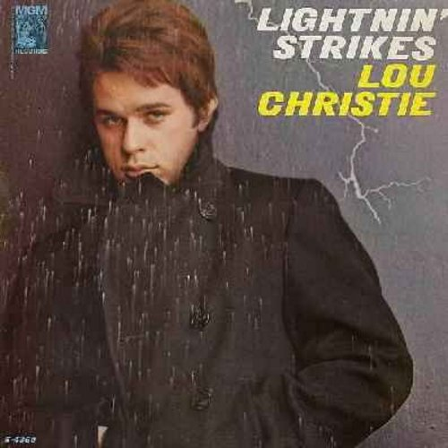 Christie, Lou - Lightnin' Strikes: Since I Fell For You, You've Got Your Troubles, Going Out Of My Head, Trapeze, If I Fell (vinyl MONO LP record) - NM9/EX8 - LP Records