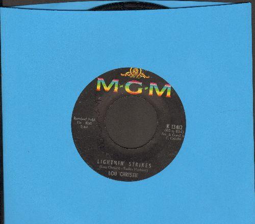 Christie, Lou - Lightnin' Strikes/Cryin' In The Street (wol) - VG7/ - 45 rpm Records