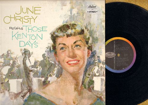 Christy, June - Those Kenton Days: The Lonesome Road, Willow Weep For Me, Come Rain Or Come Shine, Easy Street (vinyl MONO LP record) - NM9/EX8 - LP Records