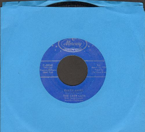 Crew-Cuts - Earth Angel/Sh-Boom (authentic-looking double-hit re-issue) - M10/ - 45 rpm Records