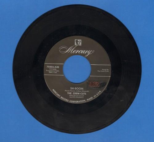 Crew-Cuts - Sh-Boom/I Spoke Too Soon  - EX8/ - 45 rpm Records