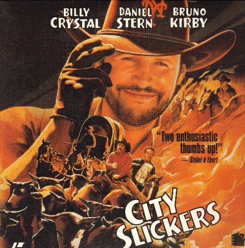 City Slickers - City Slickers - LASER DISC version of the Classic Billy Crystal Comedy featuring Oscar Winning performance by Jack Palence (This is a LASER DISC, not any other kind of media!) - NM9/NM9 - Laser Discs