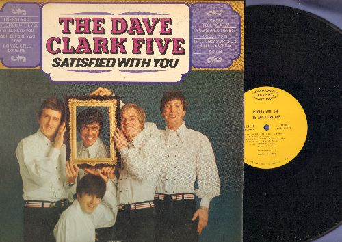 Clark, Dave Five - Satisfied With You: Please Tell Me Why, Good Lovin', Look Before You Leap, Go On, It'll Only Hurt For A Little While (vinyl MONO LP record) - NM9/EX8 - LP Records