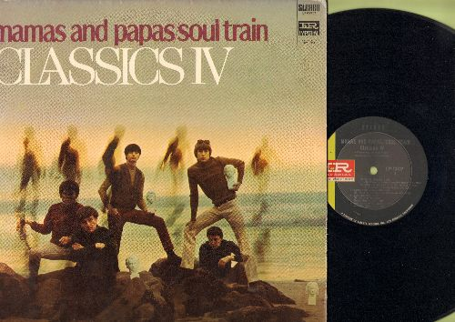 Classics IV - Mamas And Papas/Soul Train: Stormy, Pity The Fool, The Girl From Ipanema, Ladies Man, Waves 9vinyl STEREO LP record) - M10/EX8 - LP Records