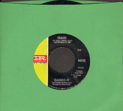 Classics IV - Traces/Mary, Mary Row Your Boat - NM9/ - 45 rpm Records