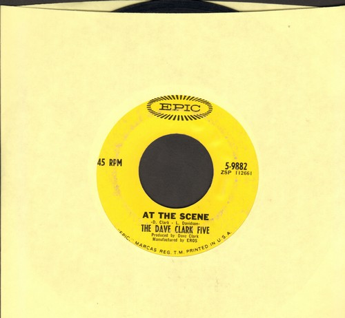 Clark, Dave Five - At The Scene/I Miss You  - VG7/ - 45 rpm Records