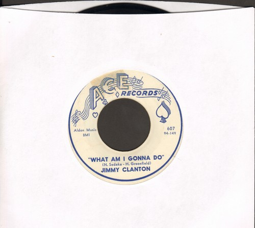 Clanton, Jimmy - What Am I Gonna Do/If I  - EX8/ - 45 rpm Records