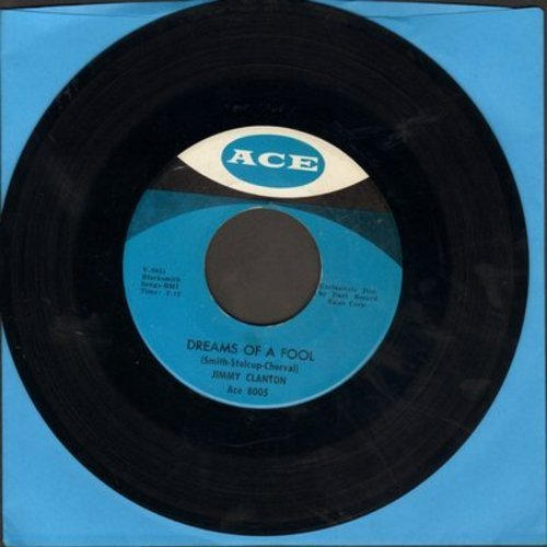Clanton, Jimmy - Dreams Of A Fool/Darkest Street In Town - M10/ - 45 rpm Records