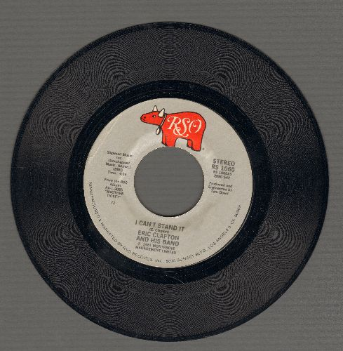 Clapton, Eric - I Can't Stand It/Black Rose - NM9/ - 45 rpm Records