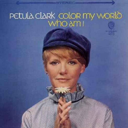 Clark, Petula - Color My World: Cherish, Who Am I, Here There And Everywhere (vinyl MONO LP record) - NM9/EX8 - LP Records