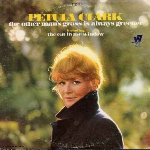 Clark, Petula - The Other Man's Grass Is Always Greener: The Cat In The Window, Smile, The Last Waltz, Answer Me My Love, I Could Have Danced All Night (vinyl STEREO LP record) - NM9/EX8 - LP Records