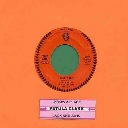 Clark, Petula - I Know A Place/Jack & John (with juke box label) - EX8/ - 45 rpm Records