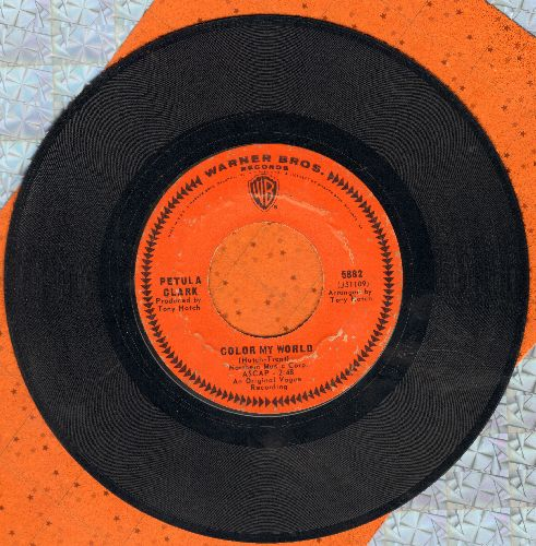 Clark, Petula - Color My World/Take Me Home Again - EX8/ - 45 rpm Records