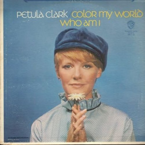 Clark, Petula - Color My World: Cherish, Who Am I, Here There And Everywhere, Winchester Cathedral, Reach Out I'll Be There (vinyl MONO LP record) - M10/VG7 - LP Records
