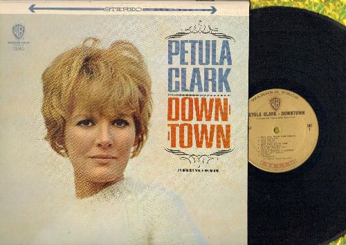 Clark, Petula - Downtown: Baby It's Me, Be Good To Me, This Is Goodbye, You Belong To Me (Petula Clark's US break-through LP, STEREO pressing in NICE condition!) - NM9/NM9 - LP Records
