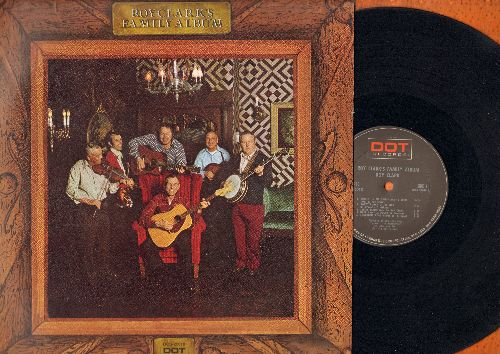 Clark, Roy - Roy Clark's Family Album: Old Joe Clark, Jesse James, Rollin' In My Sweet Baby's Arms, Log Cabin In The Lane, Rubber Dolly (vinyl STEREO LP record) - EX8/EX8 - LP Records