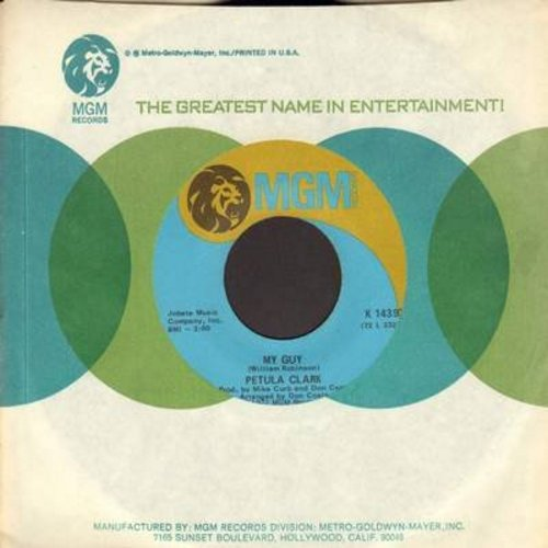 Clark, Petula - My Guy/Little Bit Of Lovin' (with MGM company sleeve) - NM9/ - 45 rpm Records