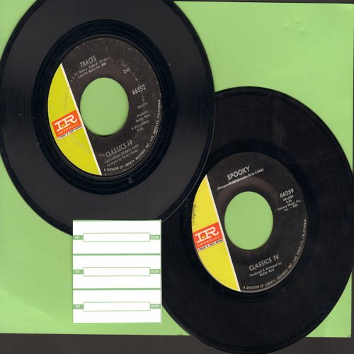 Classics IV - 2 for 1 Special: Spooky/Traces (2 vintage first issue 45rpm records for the price of 1!) - EX8/ - 45 rpm Records