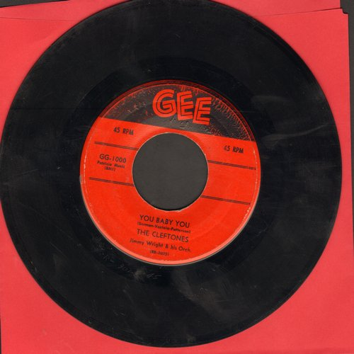 Cleftones - You Baby You/I Was Dreaming - VG7/ - 45 rpm Records