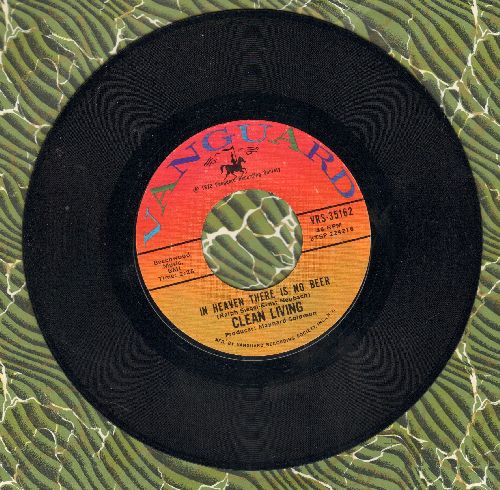 Clean Living - In Heaven There Is No Beer (That's Why We Drink It Here) (Polka Favorite!)/Backwoods Girl (POLKA FAVORITE!)(MINT condition!) - M10/ - 45 rpm Records