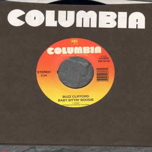 Clifford, Buzz - Baby Sittin' Boogie/Driftwood (re-issue of vintage recordings) - NM9/ - 45 rpm Records