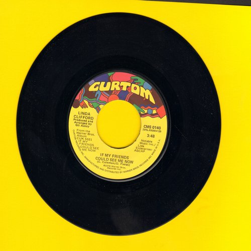 Clifford, Linda - If My Friends Could See Me Now/Please Darling, Don't Say Goodbye  - EX8/ - 45 rpm Records