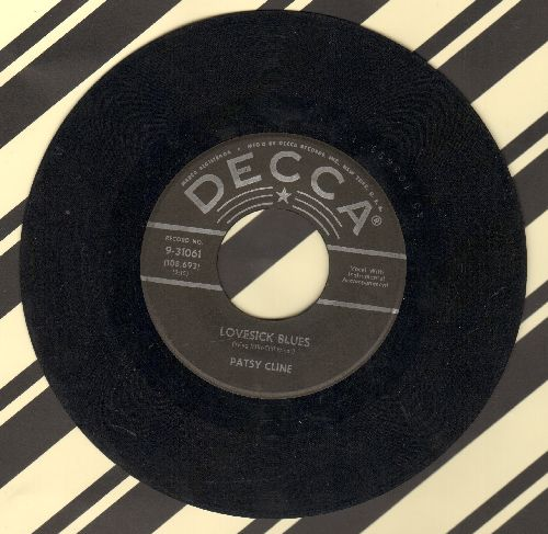 Cline, Patsy - Lovesick Blues/How Can I Face Tomorrow - VG7/ - 45 rpm Records