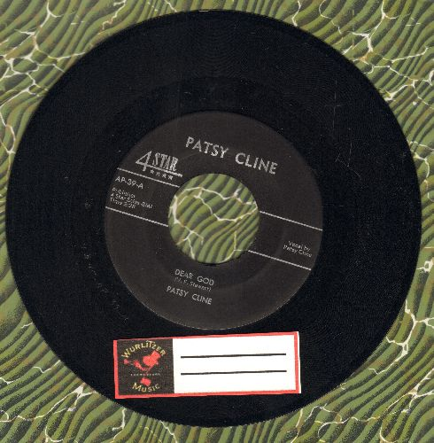 Cline, Patsy - Dear God/He Will Do For You  - NM9/ - 45 rpm Records