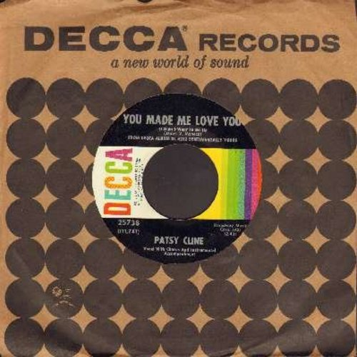 Cline, Patsy - You Made Me Love You (I Didn't Want To Do It)/Too Many Secrets (with Decca company sleeve) - VG7/ - 45 rpm Records