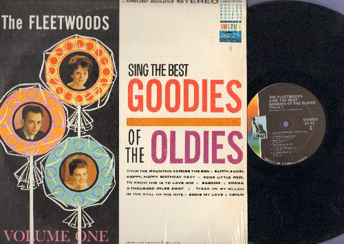 Fleetwoods - Best Goodies Of The Oldies: Earth Angel, Poor Little Fool, Venus, Eddie My Love (vinyl STEREO LP record, Liberty Label second pressing of vintage recordings) - NM9/NM9 - LP Records