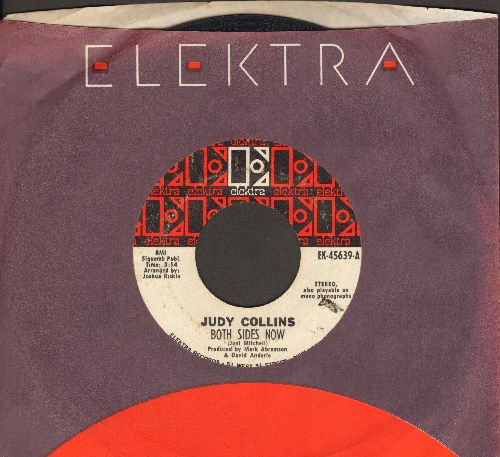 Collins, Judy - Both Sides Now/Who Knows Where The Time Goes (with Elektra company sleeve) - VG7/ - 45 rpm Records