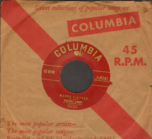 Clooney, Rosemary - Mambo Italiano/We'll Be Together Again (with vintage Columbia company sleeve) - NM9/ - 45 rpm Records