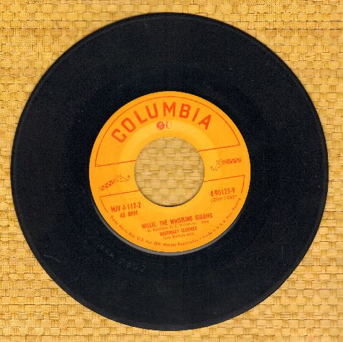 Clooney, Rosemary - Willie, The Whistling Giraffe/Dandy, Handy and Candy - G5/ - 45 rpm Records
