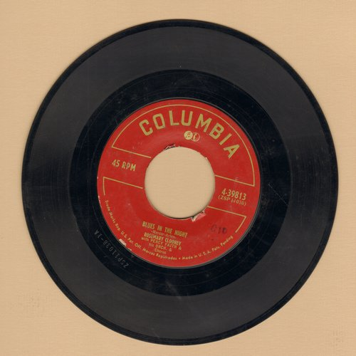 Clooney, Rosemary - Blues In The Night/Who Kissed Me Last Night?  - VG7/ - 45 rpm Records