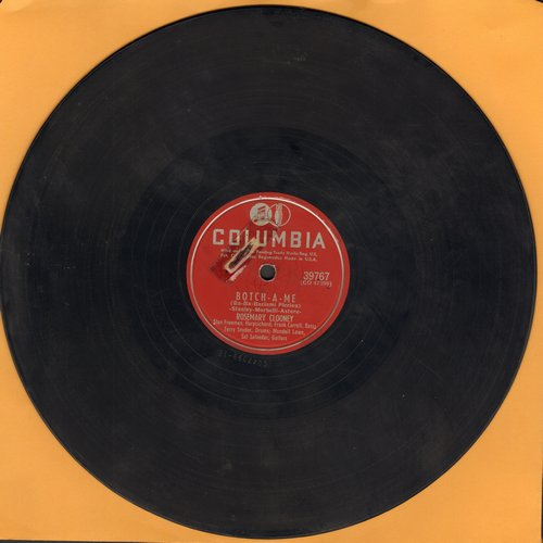 Clooney, Rosemary - Botch-A-Me/On The First Warm Day (10 inch 78 rpm record) - VG7/ - 78 rpm