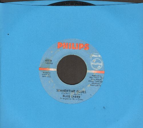 Blue Cheer - Summertime Blues/Out Of Focus (bb) - VG7/ - 45 rpm Records