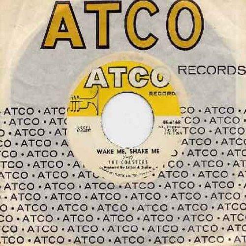 Coasters - Wake Me, Shake Me/Stewball (with Atco company sleeve) - NM9/ - 45 rpm Records