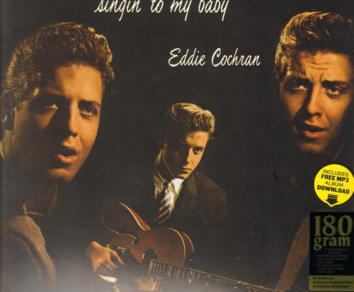 Cochran, Eddie - Singin' To My Baby: Sittin' In The Balcony, Lovin' Time, Cradle Baby, Don't Ever Let Me Go (EU 180 gram Virgin Vinyl EU Pressing re-issue of vintage recording, SEALED, never opened!) - SEALED/SEALED - LP Records
