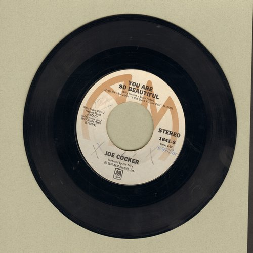Cocker, Joe - You Are So Beautiful/It's A Sin When You Love Somebody (minor wol) - EX8/ - 45 rpm Records