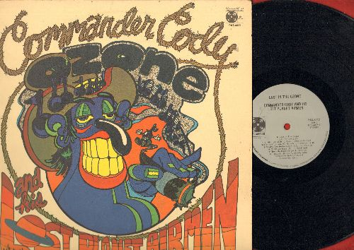 Commander Cody & His Lost Airmen - Lost In The Ozone: Hot Rod Lincoln, Beat Me Daddy Eight To The Bar, Family Bible, Back To Tennessee (vinyl STEREO LP record) - NM9/VG7 - LP Records