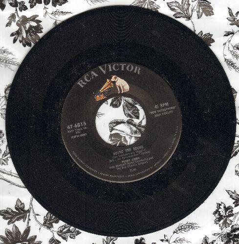Como, Perry - Round And Round/Mi Casa, Su Casa  - NM9/ - 45 rpm Records